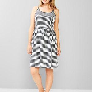 Gap Maternity Stripe Cami Tank Sun Dress